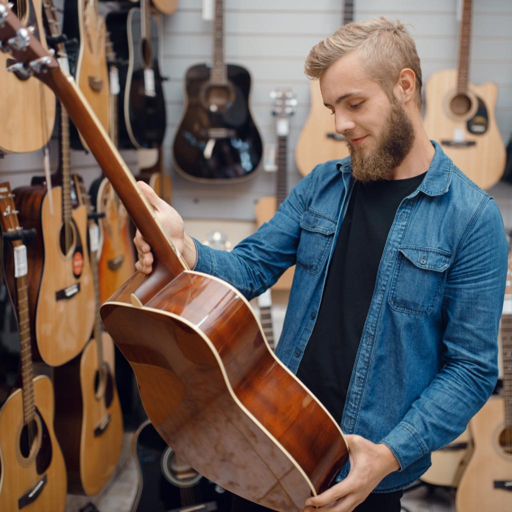Choosing Your First Guitar